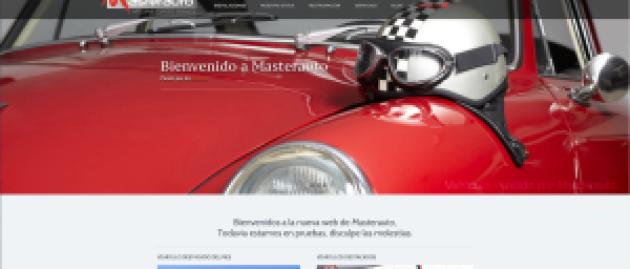 ¡Bienvenidos a la nueva web de Masterauto!